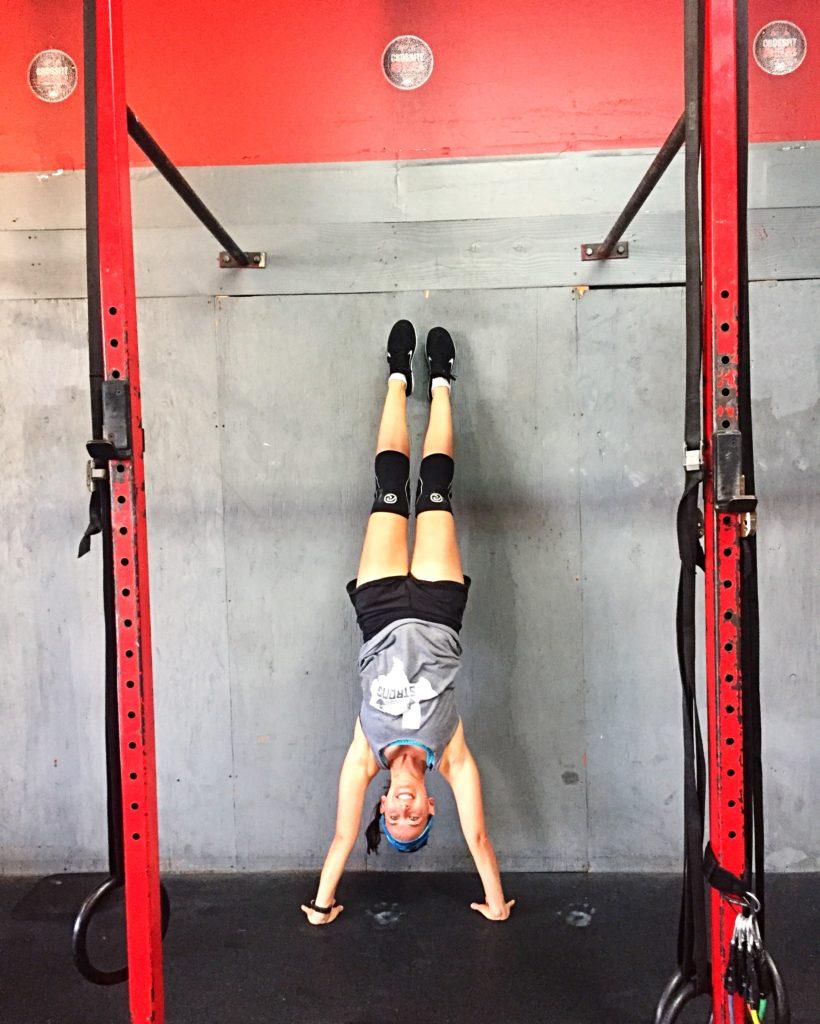 CrossFit858 Mission Gorge handstand