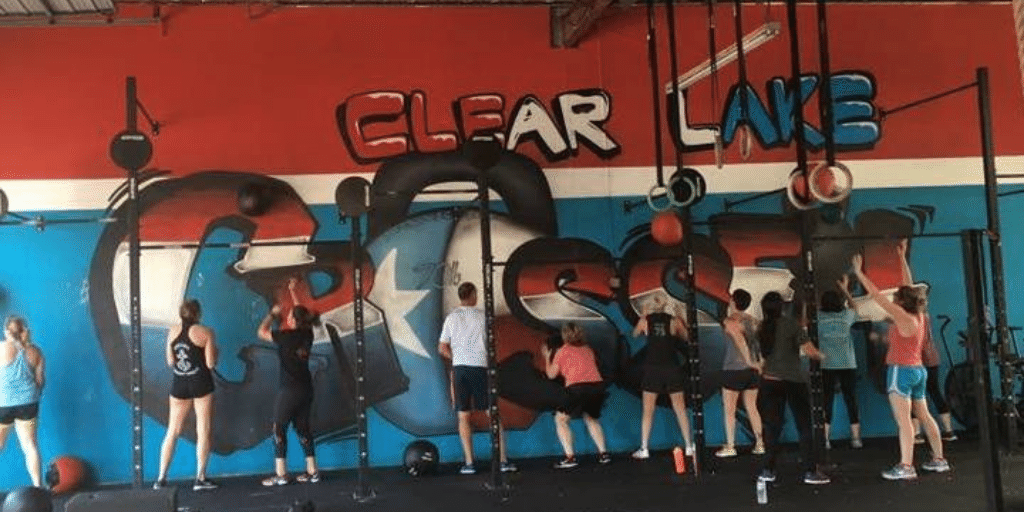 CrossFit is for everyone - we're ALL doing wallballs!