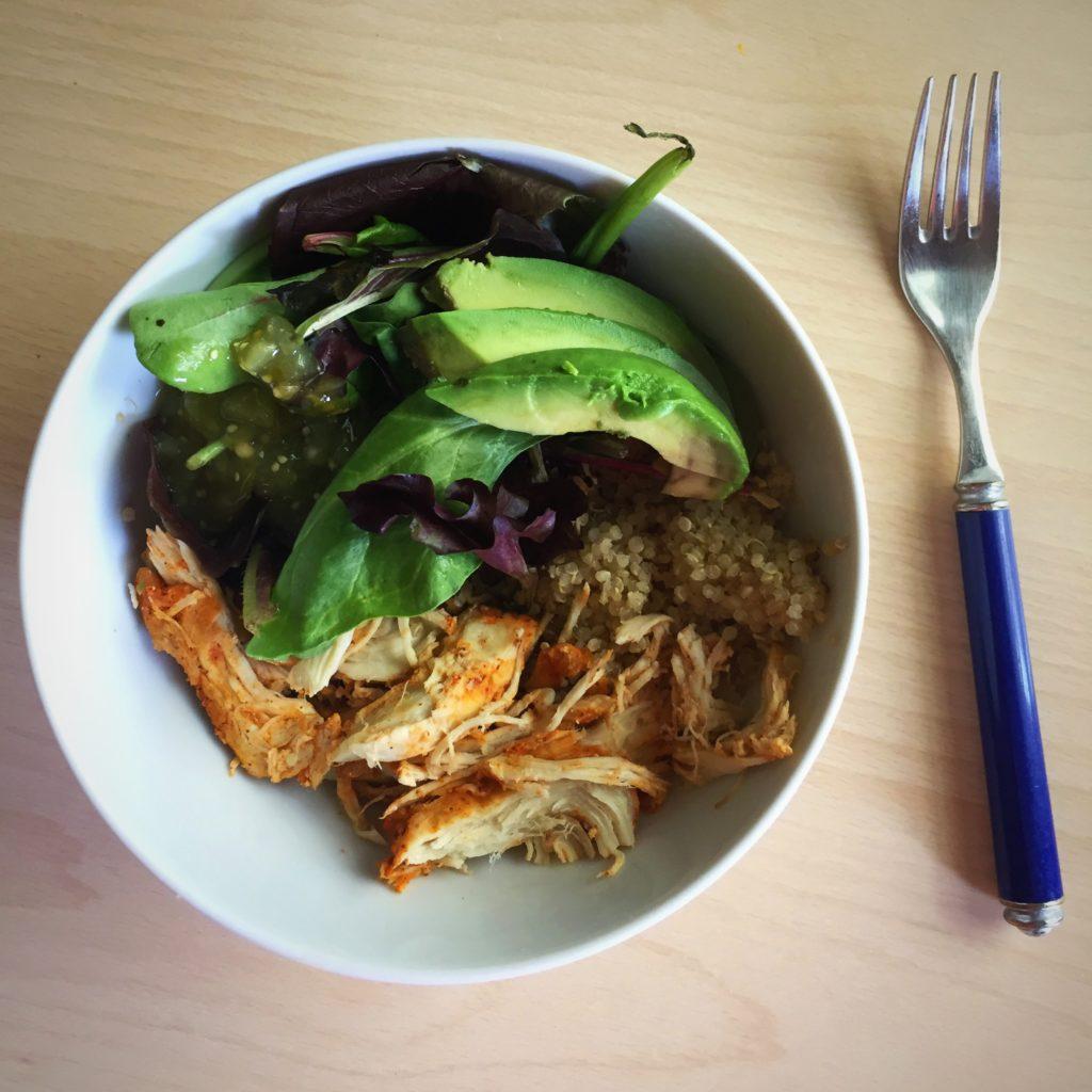 Slow cooker taco chicken recipe