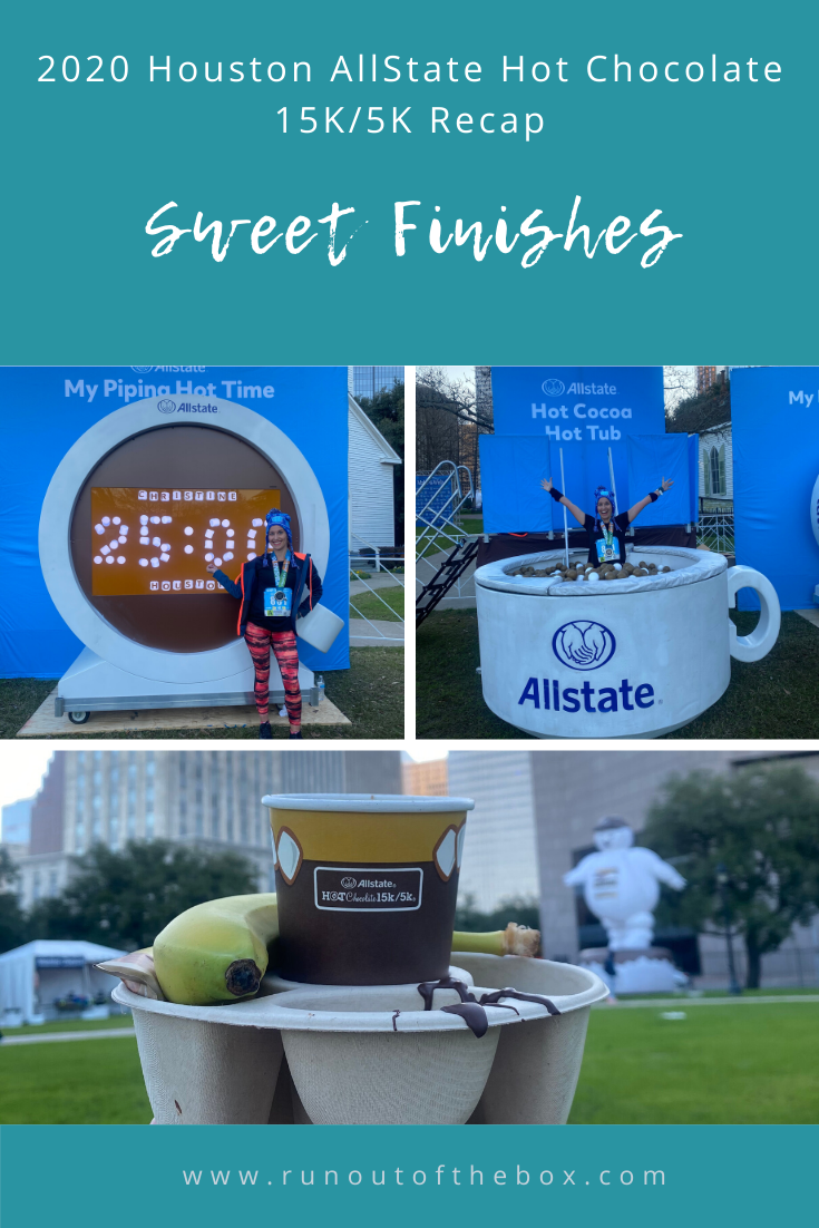 The full 2020 Houston AllState Hot Chocolate 15K/5K recap is now live! Learn more about the sweet finish here.