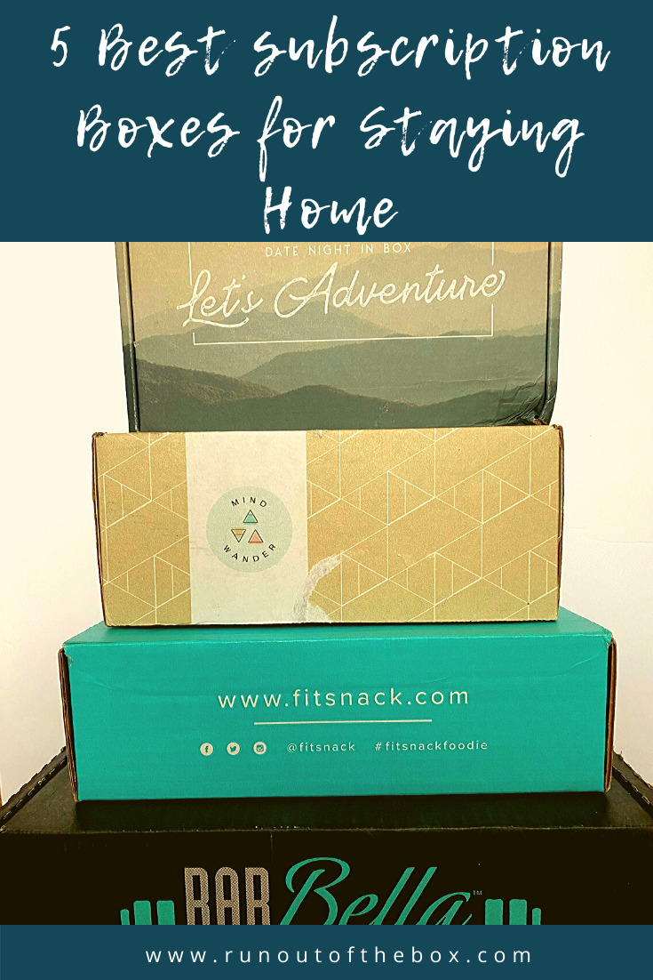 Best Subscription Boxes for Staying Home
