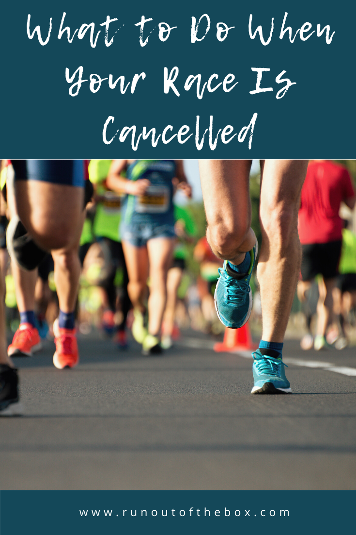 What to do when your race is cancelled (other than eating a whole jar of queso)