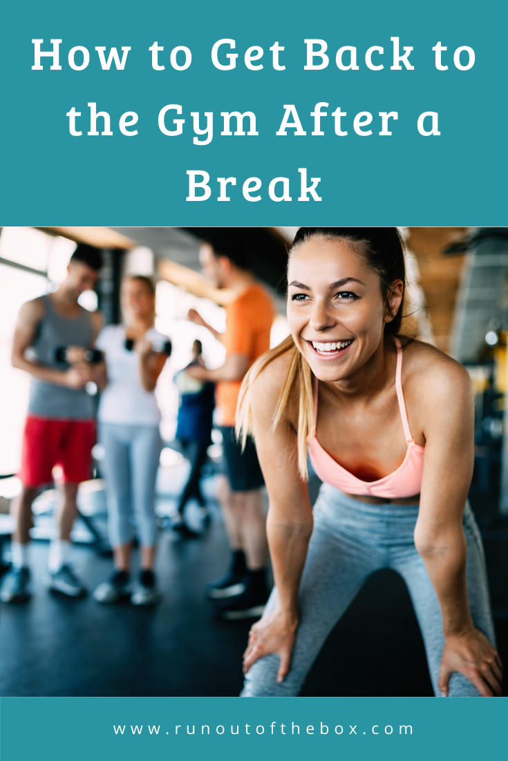 How to get back to the gym - image for Pinterest